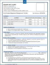 Ideas Of Sample Cv Format For Freshers Pdf Nice Mechanical Resume