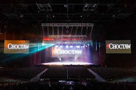 Choctaw Concert Seating Chart Choctaw Casino Meyer Sound