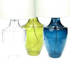 turquoise glass lamp le glass lamp turquoise glass lamp base s turquoise le glass table lamp