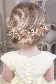 Short Wedding Hairstyles 8 Amazing 24 Cute Flower Girl Hairstyles 24 Update Pinterest Girl