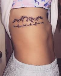 Spine Tattoos Quotes 4 Awesome Mountain Tattoos Quote Tattoos The Wolf You Feed Is The Wolf Who
