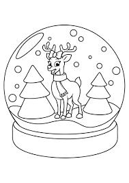 Disegni Semplici Da Colorare Di Natale 2014