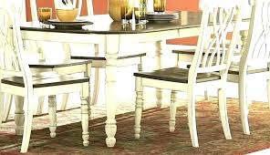 dining tables distressed black dining table set round room sets cha distressed black dining table