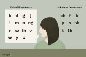 Ipa Chart Voiced And Voiceless Voiced Vs Voiceless Consonants