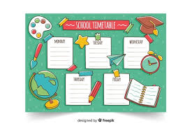 Timetable Chart Ideas Timetable Vectors Photos And Psd Files Free Download
