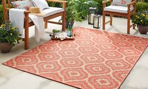 modern outdoor rugs color