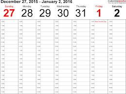 2 Page Monthly Calendar Printable 2016 Calendar Template 2019
