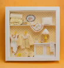 baby shadow box frame 3d wall art