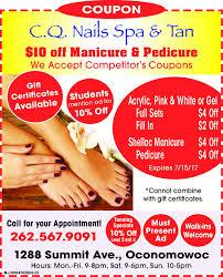 o nails spa tan 10 off manicure pedicureails spa lane accept