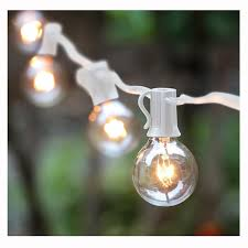 commercial patio lights. Amazon.com: 50Ft G40 Globe String Lights With Bulbs For Indoor/Outdoor Commercial Decor: Home \u0026 Kitchen Patio