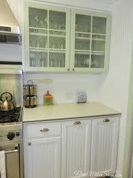 Clear Glass Backsplash Kitchen Enchanting Clear Glass Sage Green Kitchen Cabinets As