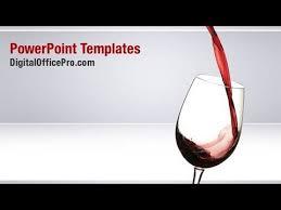 Wine Powerpoint Template Red Wine Powerpoint Template Backgrounds Digitalofficepro 04235w