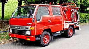 JDM Fire Engine - Toyota Hiace Double Cab Diesel 5-speed (USA Import ...
