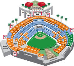 Group Seating Chart Los Angeles Angels
