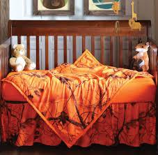 realtree camo bedding piece orange blaze crib set pcs grey nursery baby cot sets sheet pink