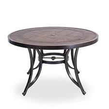 casainc patio table round outdoor