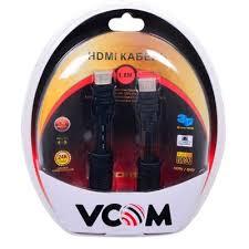 Купить кабель <b>Vcom HDMI</b> 19M/M ver:1.4-3D, 1,8m, позолоченные ...