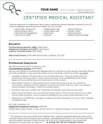 Medical Assistant Duties Resume Adorable Medical Assistant Duties Resume Free Resume Template Evacassidyme