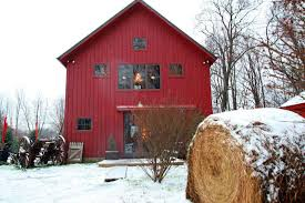 Traditional Barn Style Carriage House