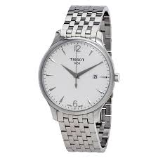 tissot tradition watches jomashop tissot tradition silver dial stainless steel men s watch