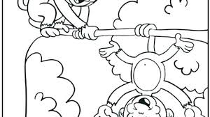 Printable Monkey Coloring Pages Free Monkey Coloring Pages Cute Baby