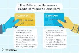 Some financial institutions allow you to directly transfer funds from your credit card to your checking account. The Difference Between A Credit Card And A Debit Card