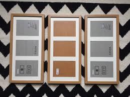 3 x photo frames ikea ribba oak effect 3 frames for 5