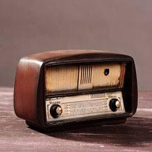 old <b>radio</b> decor