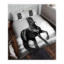 black stallion duvet sets single