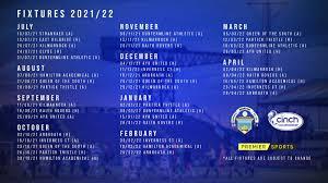 2021 22 fixtures announced greenock