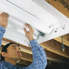 Fluorescent Light Problems How To Replace A Fluorescent Light Bulb Family Handyman