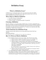 examples of a definition essay co examples