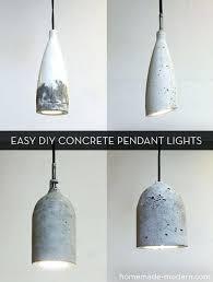 concrete pendant light how to make easy modern concrete pendant lights concrete pendant light kitchen