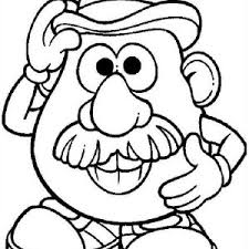 Small Picture Drawing Mr Potato Head Coloring Pages Drawing Mr Potato Head