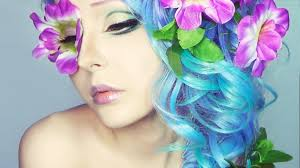 flower princess make up tutorial by anastasiya shpagina
