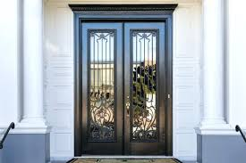 remarkable glass door inserts wrought iron glass door inserts exterior door glass inserts canada