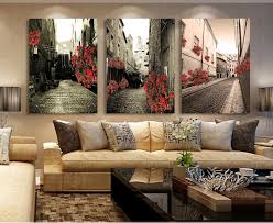 wall pictures for living room cuadros giveaways wall sticker 3 pcs set vintage painting canvas art print building rose picture in painting calligraphy  on vintage wall art canvas with wall pictures for living room cuadros giveaways wall sticker 3 pcs