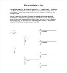 4th Generation Pedigree Chart 10 Pedigree Chart Templates Pdf Doc Excel Free