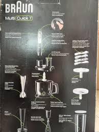 Máy xay sinh tố Braun MultiQuick 7 Stick MQ777