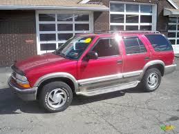 2000 Majestic Red Metallic Chevrolet Blazer LT 4x4 #62098007 ...