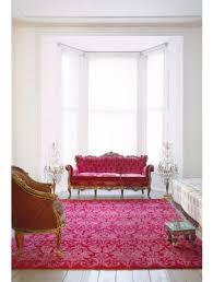 royal damask rug in red pink from knots rugs