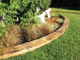 creative wood landscape edging ideas emerson design