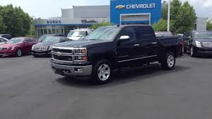 chevrolet trucks 2014 black. Simple Chevrolet 2014 Chevrolet Silverado Crew Cab LTZ Black Burns Cadillac Rock  Hill SC  YouTube Intended Trucks Black