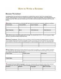 Is Resume Builder Free Kids printable high school worksheets Resume Builder Worksheet 68