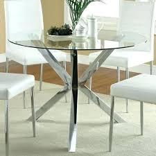 glass top kitchen tables modern round glass top dining table glass dining table base for round
