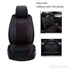 special leather car seat cover for nissan all models qashqai note murano march teana tiida almera x trai car accessories styling custom fit seat covers for