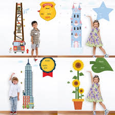 Kindergarten Height Chart Measuring Height Activity For Kids Learning 4 Kids