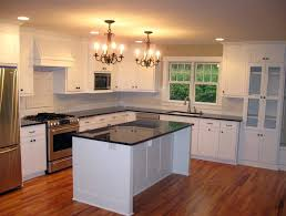 kitchen island from stock cabinets menards base in