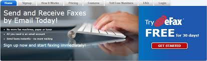 electronic fax free efax best free online fax service review sweetly review