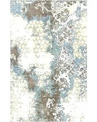 brown and blue area rugs blue brown rug excellent echo shapes circles modern geometric comfy casual brown and blue area rugs